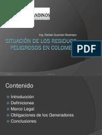 Situación de los Residuos Peligrosos en Colombia