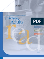 Teaching Adults to Read