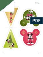 Enfeites Mickey e Minie 2