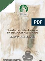 Filosofia y Derechos Humanos (CNDHEM)
