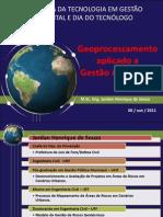 Geoprocessamento aplicado a Gestão Ambiental