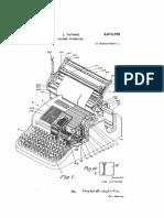 2613795 Chinese Typewriter