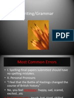 Writing Grammar