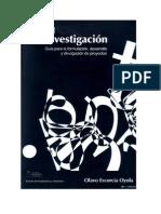 MANUAL PARA LA INVESTIGACIÓN  Olavo Escorcia Oyola