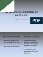 Las Estructuras Elementáles Del Parentesco