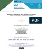 Rillo AG Et Al - Horizonte y Estructura de La Pregunta Pedagogic A