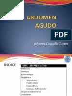 Abdomen Agudo + Caso Clinico
