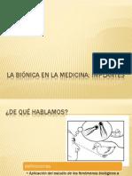 LA Binica en La Medicina