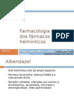Farmacologia clínica dos fármacos anti-helmínticos