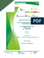 Practica #2 Balance de Materia y Energi