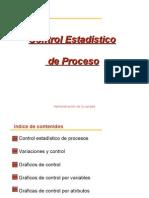 Control Estadistico de Proceso
