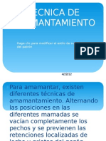 TECNICA DE AMAMANTAMIENTO