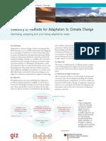 En Climate Inventory Methods