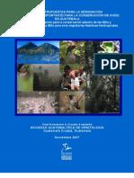 ÁREA IMPORTANTE PARA LA CONSERVACIÓN DE AVES EN GUATEMALA,