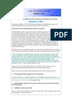 Islamic Newsletter - Etiquette of Eid