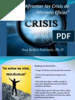 Cómo Afrontar las Crisis de Manera Eficaz
