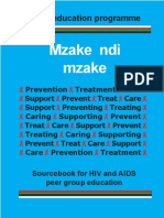 Mzake Ndi Mzake - HIV and AIDS Manual