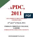 APDC, 2011