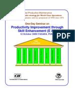 Productivity Improvement Through Skill Enhancement -Octobe…