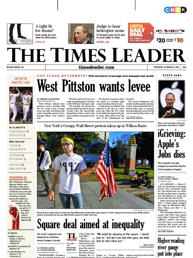 347bbf49cdd73 Times Leader 10-06-2011
