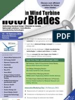 Advances in Wind Turbine Rotor Blades