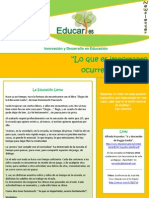 EDUCARes. Newsletter nº5