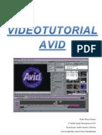 Videotutorial Avid Pedro Parra Gómez