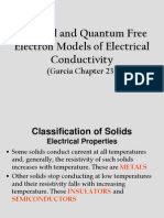 8 Free Electron Models of Conductivity