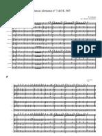 Danza alemana nº 3 del k605 mozart partitura completa