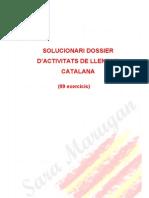 8. Solucionari Dossier de 99 Exercicis Llengua Catalana Curs PPA