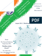 Mark Mantra IIFT August 2011 the New Age Branding Draft