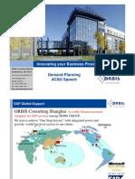 Demand Planning(Orbis Consulting Shanghai)