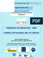«Institut Universitaire Mer et Littoral»