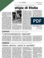 Le vestigia dell'antica Minerva (Castellaneta), Taranto Oggi, martedì 5 ottobre 2011-Vincenzo Stasolla