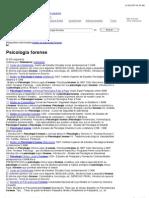 Psicologia forense - emagister