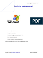 Cara Menginstal Windows XP SP 1