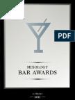 Nominierte der fünften Mixology Bar Awards