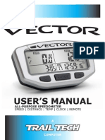 Vector Users Manual 7010-MANUAL