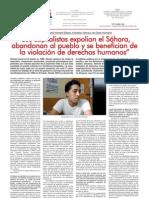 Entrevista a Ahmed en NC Octubre 2011