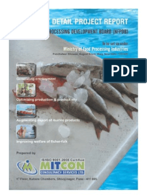 Detail Project Report Fisheries NFPD India | Aquaculture | Hazard