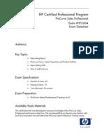 ASP 004 Procurve EPG