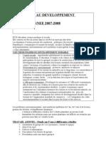 projet EDD seconde 2007-2008