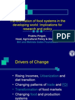 Pingali-Transformation of Food Systems