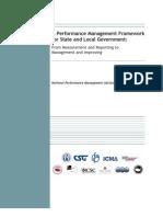 A Performance Management Framework