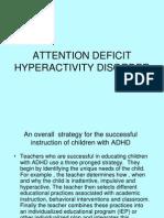 Report in Curriculum