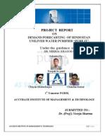 Demand forecasting of pureit