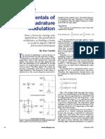 Fundamentals of Digital Quadrature Modulation