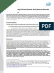 Cisco EEE-Build Greener Networks