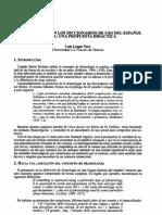 Fraseología en el uso del Español