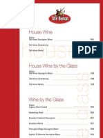 The Baron Wine List